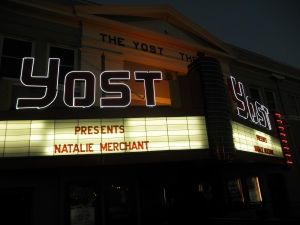 The Historic Yost Theater in downtown Santa Ana